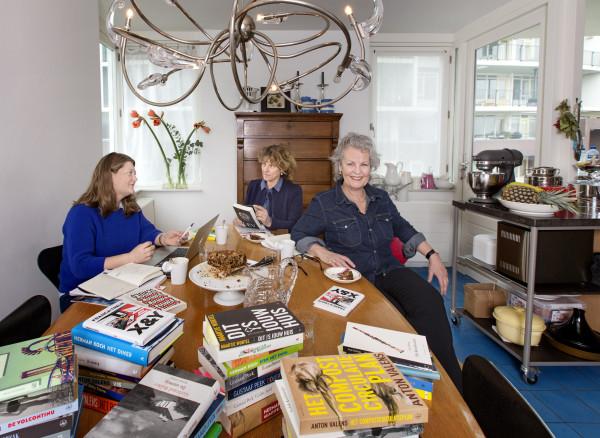 Nederlad, Amsterdam, 1 maart 2016. Van links naar rechts: Maaike Bergstra, Jessica Swinkels en Teuntje Klinkenberg. Foto: Jorgen Caris